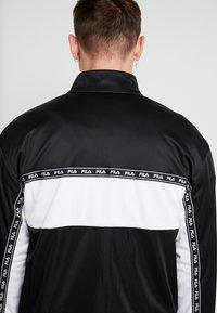 Fila - HACHIRO TRACK JACKET - Träningsjacka - black/bright white - 5