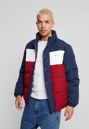 PELLE PUFF JACKET - Winterjas -  rhubarb/black iris/bright white