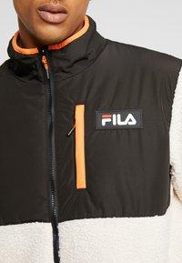 Fila - HADI JACKET - Allvädersjacka - whitecap gray/black - 5