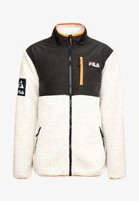 Fila - HADI JACKET - Allvädersjacka - whitecap gray/black - 4