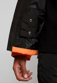 Fila - HERB SHELL JACKET - Chaqueta fina - mandarin orange/black - 3
