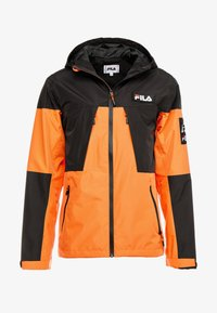Fila - HERB SHELL JACKET - Chaqueta fina - mandarin orange/black - 4
