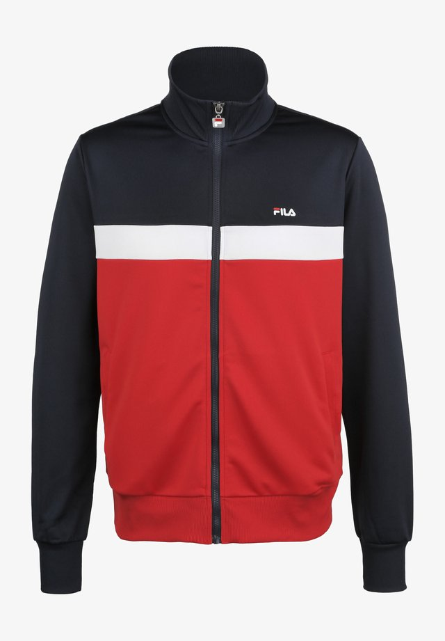 TRAININGSJACKE SANGA - Training jacket - bl iris/true red/bright white