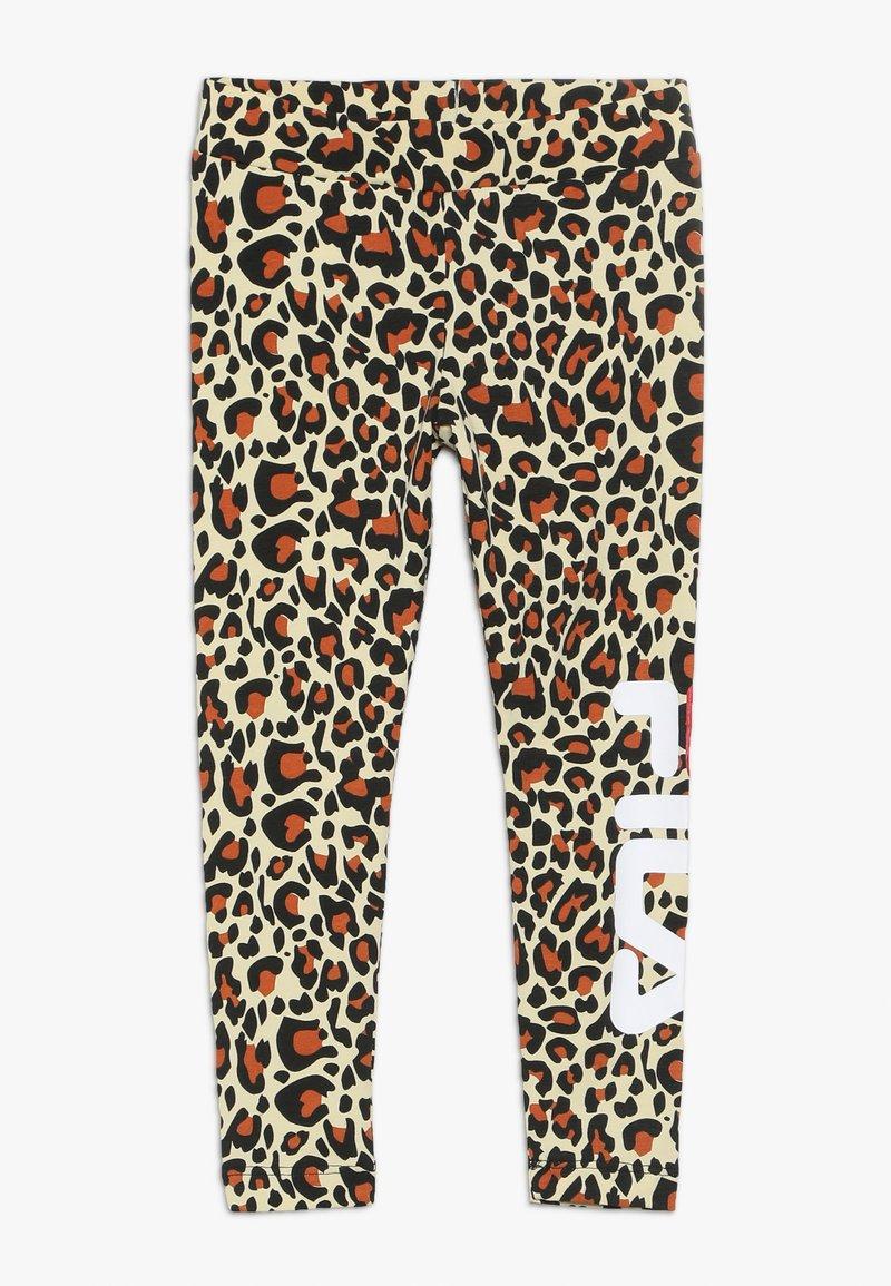 Fila - FLEX  - Leggings - Trousers - brown
