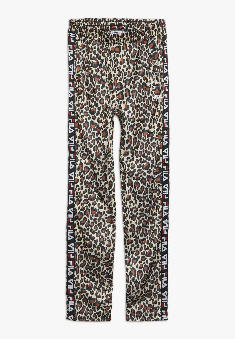 Fila - TALISA TRACK PANTS - Tracksuit bottoms - brown
