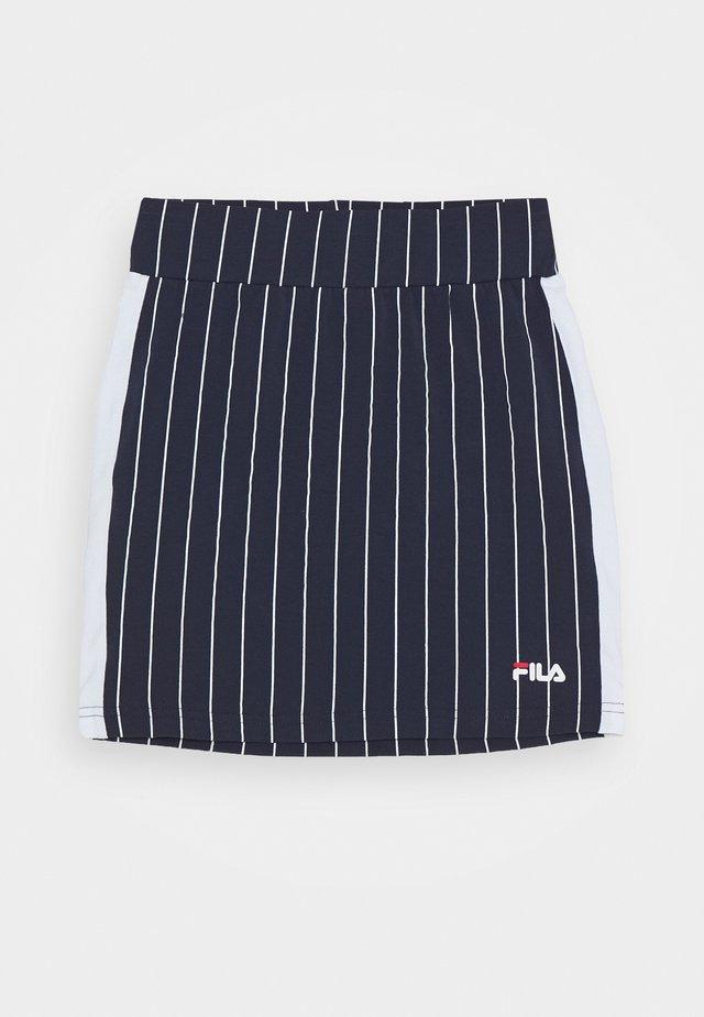 TYRA - Mini skirt - black iris