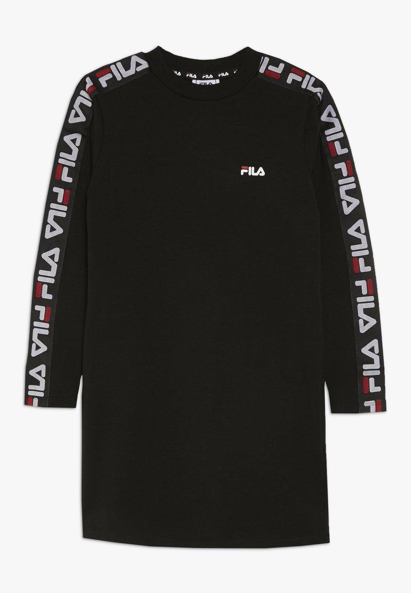 Fila - BROOKE DRESS - Vestito di maglina - black
