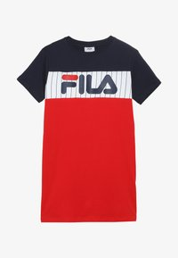 Fila - RUBI - Žerzejové šaty - true red/bright white/black iris - 2