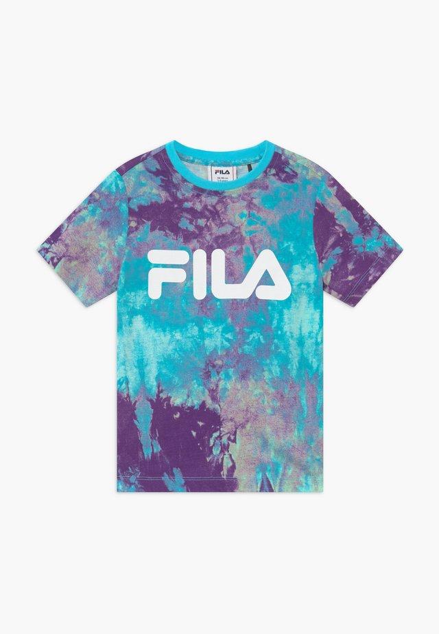 CLASSIC  - Print T-shirt - lilac