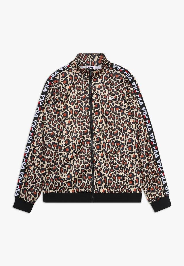 TALISA TRACK JACKET - Training jacket - brown