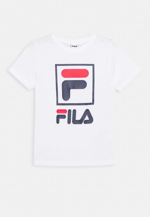 TOAM - Camiseta estampada - bright white