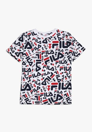 KIDS ZARA TEE - Camiseta estampada - white