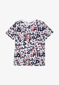 Fila - KIDS ZARA TEE - T-shirt med print - white - 2