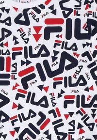 Fila - KIDS ZARA TEE - T-shirt med print - white - 3
