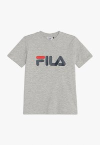 Fila - CLASSIC LOGO TEE - T-shirt imprimé - light grey melange - 0