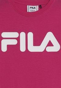 Fila - CLASSIC LOGO TEE - T-shirt med print - pink yarrow - 3
