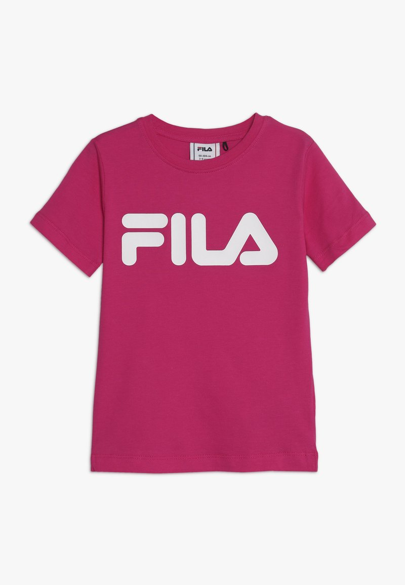 Fila - CLASSIC LOGO TEE - T-shirt med print - pink yarrow