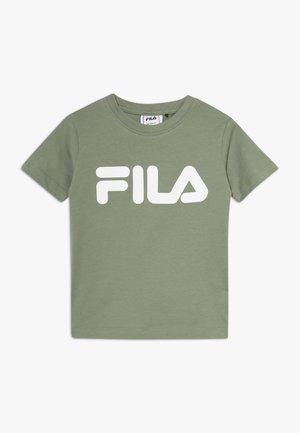 CLASSIC LOGO TEE - T-shirt print - sea spray