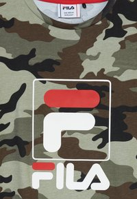 Fila - ALLOVER TEE - T-shirt imprimé - green - 3