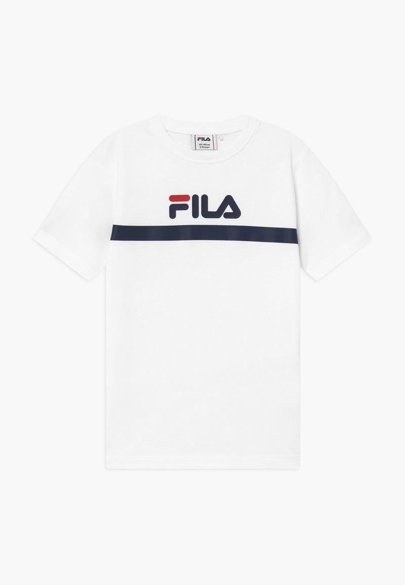Fila - T-shirt imprimé - bright white