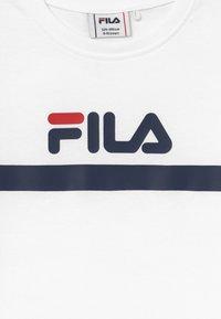 Fila - T-shirt imprimé - bright white - 3