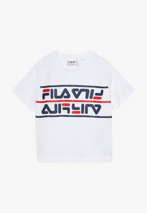 SALMAN - T-shirt imprimé - bright white