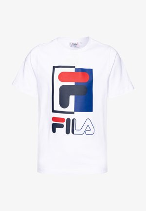 SAKU - T-shirt imprimé - bright white