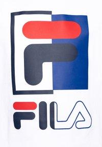 Fila - SAKU - T-shirt imprimé - bright white - 2