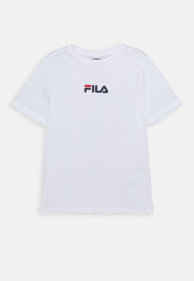 THERA - Print T-shirt - bright white