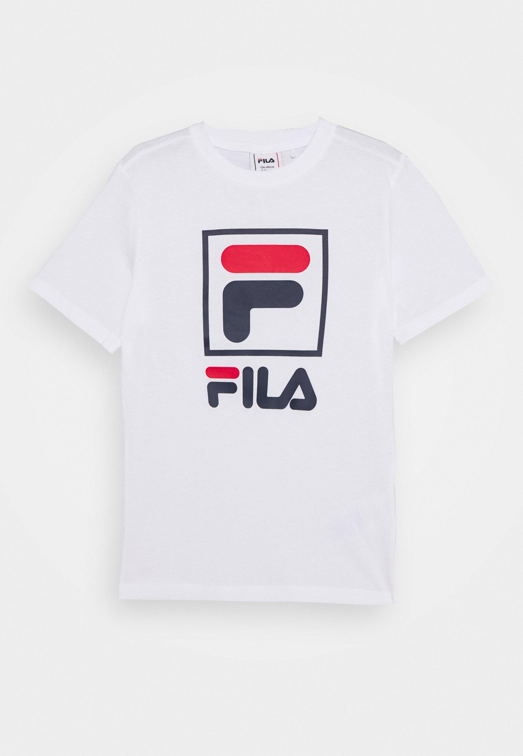 Fila THERA T shirt imprimé bright white ZALANDO.FR