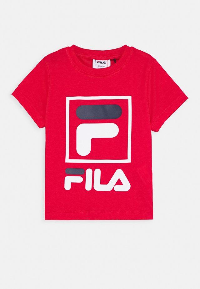 TOAM - Print T-shirt - true red