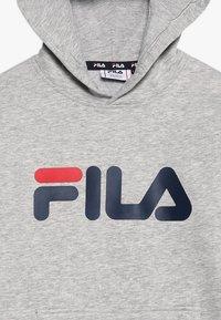 Fila - CLASSIC LOGO HOODY - Hoodie - light grey melange - 4