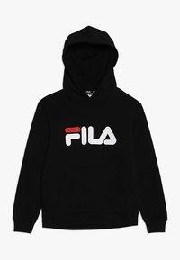Fila - CLASSIC LOGO HOODY - Hoodie - black - 0