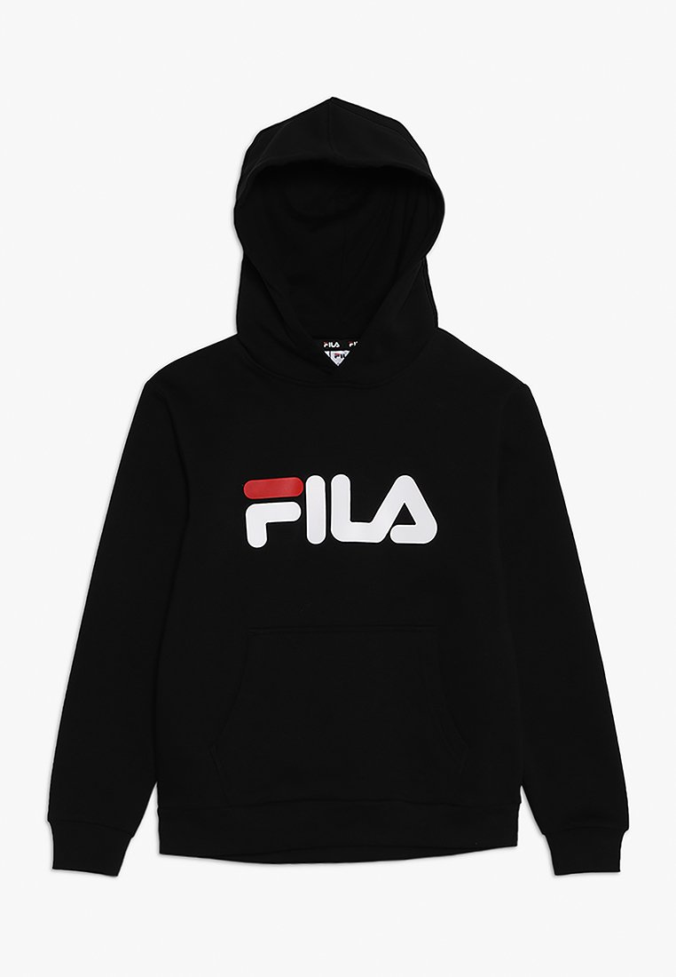 Fila - CLASSIC LOGO HOODY - Sweat à capuche - black