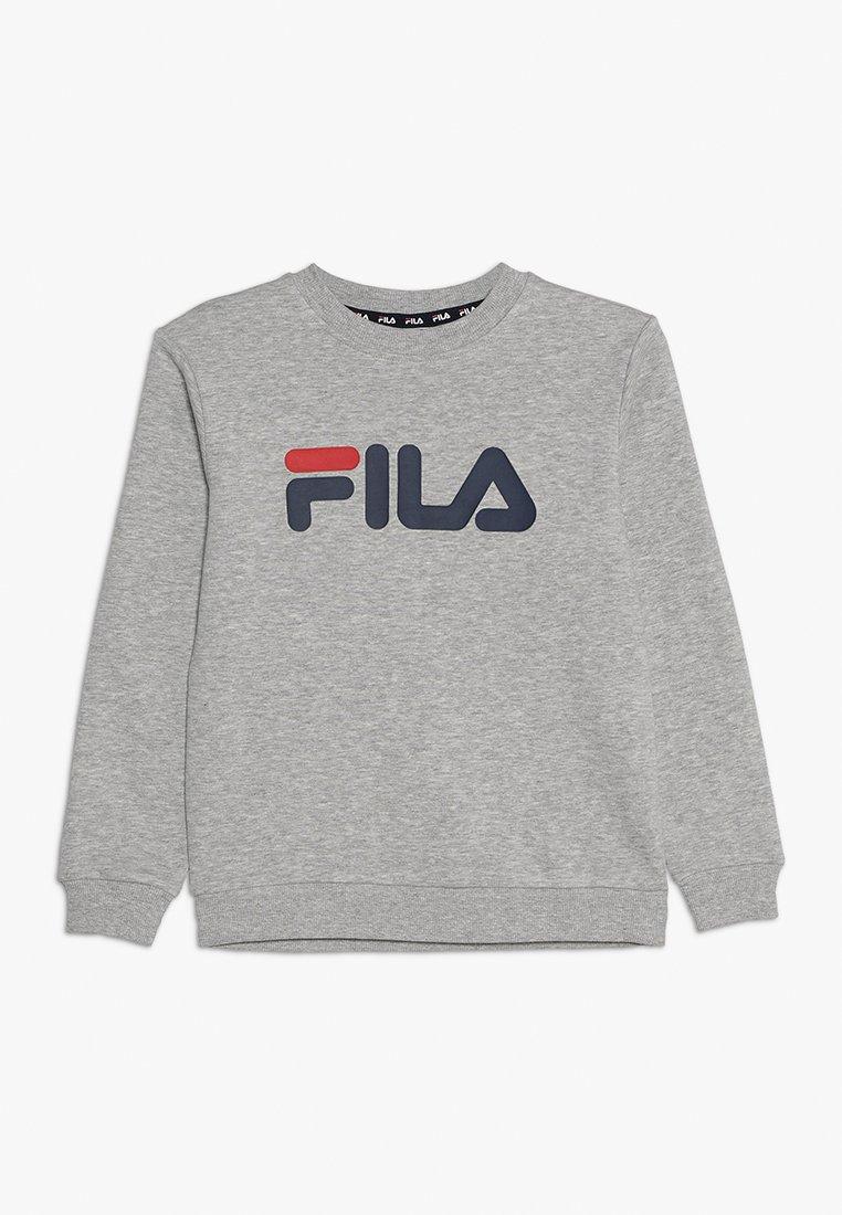 Fila - CLASSIC LOGO CREW  - Sudadera - light grey melange