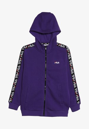 ADARA ZIP JACKET - veste en sweat zippée - tillandsia purple