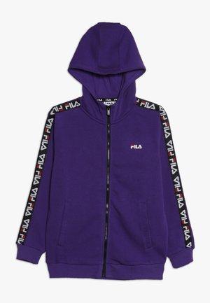 ADARA ZIP JACKET - Zip-up hoodie - tillandsia purple