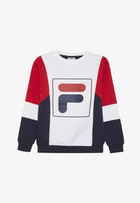 Fila - RAIMO - Sweatshirt - black iris/true red/bright white - 2