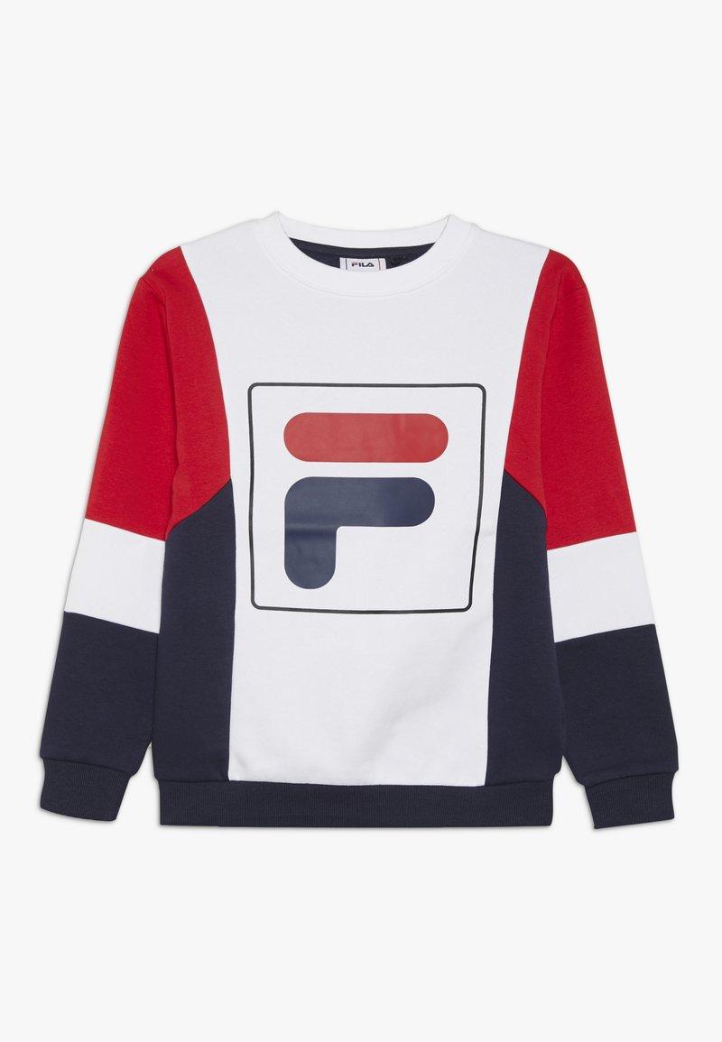 Fila - RAIMO - Sweatshirt - black iris/true red/bright white