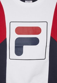 Fila - RAIMO - Sweatshirt - black iris/true red/bright white - 3