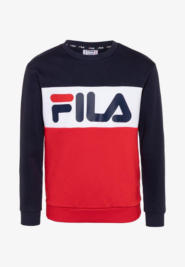 NIGHT - Sweatshirt - black iris/true red/bright white