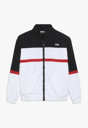 KAYAN - Träningsjacka - bright white/black/true red