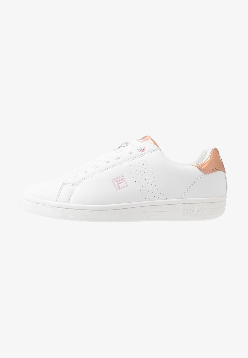 Fila - CROSSCOURT 2 LOW - Træningssko - white/lotus