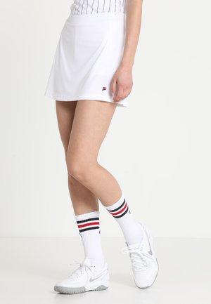 SKORT SHIVA - Sportovní sukně - weiß