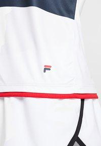 Fila - SAMIRA - Print T-shirt - white/blue/red - 5