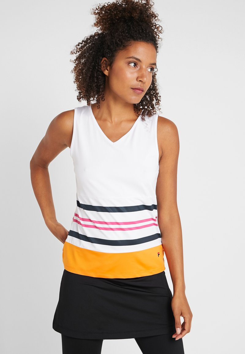 Fila - AMY - Top - awning/orange peel