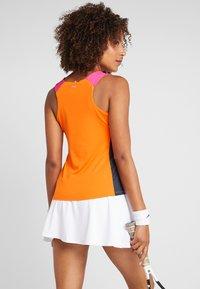 Fila - RACERBACK ASHLEY - Sports shirt - orange peel - 2