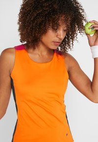 Fila - RACERBACK ASHLEY - Sports shirt - orange peel - 3