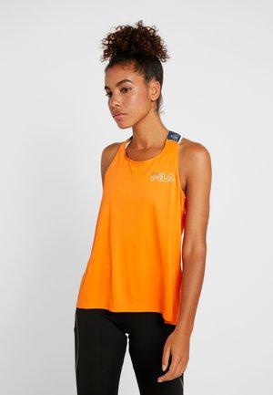 LOOSE FIT TANK - Top - celosia orange