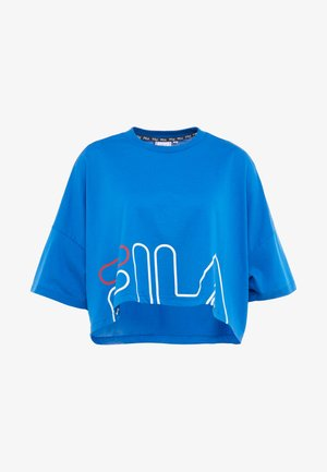 WIDE TEE - T-shirt con stampa - lapis blue